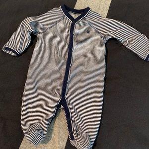 Newborn Ralph Lauren Onesie